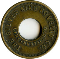 The Silver King Novelty Co. Cincinnati, Ohio OH Profit Sharing Amusement Token