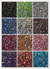Crystal Flat Back Acrylic Rhinestones Gems 15 colors 2mm, 3mm, 4mm, 5mm 6mm