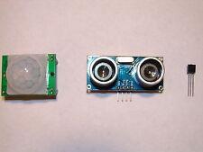 Arduino PIR motion, Ultrasonic distance, Temperature - Sensor Pack - USA  Seller