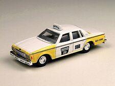 Classic Metal Works 30161 1:87 HO Mini Metals 1978 Impala 4-Door Sedan - Taxi