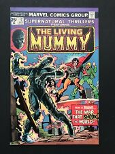Supernatural Thrillers #12 MARVEL 1975 - Great condition-  The Living Mummy!