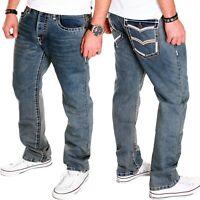 Herren Jeans Chino Blau Freizeit Hochzeit kosmo Hose Lupo Clubwear Neu J.5.9