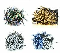 100/200 String Fairy LED Lights Christmas Mains Powered Indoor&Outdoor Xmas