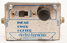 Electro-Harmonix Linear Power Booster 1 Boost Guitar Effect Pedal USA Vintage