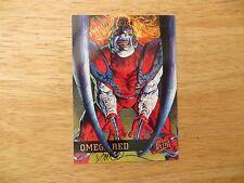 '95 FLEER ULTRA X-MEN OMEGA RED CARD SIGNED DAVE DEVRIES ARTWORK