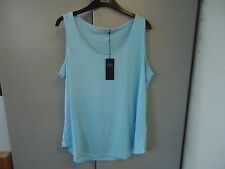 M&S Collection Size 20 Pure Viscose Vest Top Bnwt