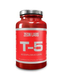 ZEON LABS T5 EXTREME FAT STRIPPER / FAT BURNER / ZION LABS