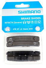 Shimano Deore XT XTR LX DXR M70CT4 (Severe) Brake Shoes for Cartridge, 2 pair