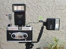 Powerful Custom-built Viewmaster Mark II Camera FISHEYE Lenses & HOT SHOE+Extras
