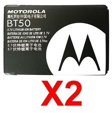 Lot Of 2 Oem Motorola Bt50 Battery For W260g W315 W385 W395 W490 W370 W510 W755