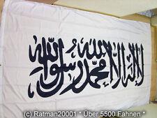 Fahnen Flagge Kalifat Shahada Islam Weiß Sonderposten - 150 x 250 cm