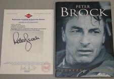 PETER BROCK Hand Signed Hardcover Book + COA MF14357  * BUY 100% AUTHENTIC*