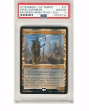 2016 Magic the Gathering Steel Overseer Kaladesh Inventions Foil PSA 10