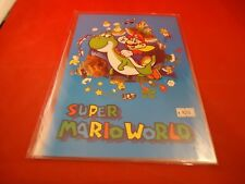 Super Mario World Nintendo SNES SFC RARE Promotional Plastic Display Japan Promo