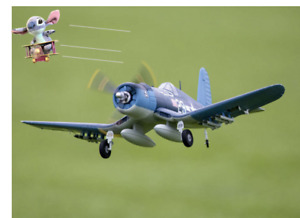 F4 F4U CORSAIR RC MODEL AIRCRAFT Plane Warbird Like America Spitfire W Safe Gyro