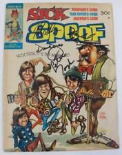 THE MONKEES Signed Autograph Comic Book Magazine by 4 Davy Jones, Peter Tork +