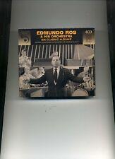 EDMUNDO ROS & HIS ORCHESTRA - SIX CLASSIC ALBUMS - 4 CDS - NEW!!