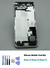 Iphone 5s completo carcasa funda trasera espacio Gery Piezas Interior + Kit de herramientas NUEVO