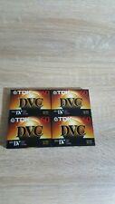 NEW 4 TDK DVC Camcorder Tape Mini DV Cassette-60 FREE SHIPPING!