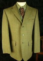Mens Tweed Hunting Shooting Norfolk Jacket Coat Alpendale SIZE 40 reg