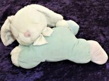 Vintage Eden Bunny Rabbit Wind Up Musical Laying Sleepy Sleeping Shut eyes