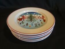 Villeroy and Boch - Naif Christmas - Set of 6 Salad Plates