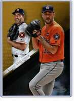 Justin Verlander 2019 Topps Gold Label Class One 5x7 Gold #25 /10 Astros