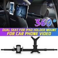 360° Support Tablette Voiture Siege Appuie Tête Flat Bracket Pour iPad Air  +A