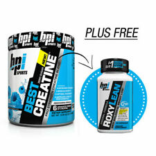 Bpi Creatine 50 serving Plus Free Fat Burner Mix Flavours Muscle Recovery Growth