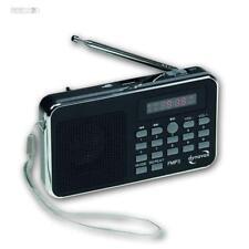 Kofferradio CT-3, USB, MP3 mit Akku, Tragbares Radio SD Kartenschlitz, Baustelle