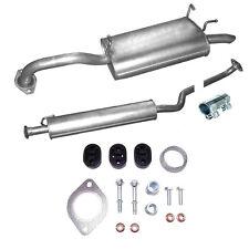 Exhaust Middle Silencer Rear Nissan Primera 2.0i -16V Estate + Assembly Kit