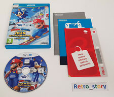 Nintendo Wii U - Mario & Sonic Aux Jeux Olympiques d'hiver de Sotchi 2014 - PAL