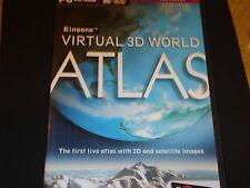 PC CD-ROM  ( Virtual 3D World Atlas )