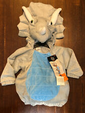 Hyde And Eek Toddler Size 12-18 Months Triceratops Costume Dress Up Cosplay
