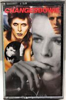 David Bowie Changesbowie Cassette Tape Racs 01717-2 C143693 RYKO Analogue