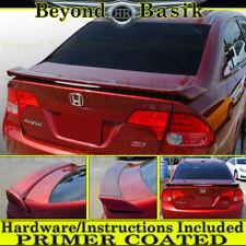 1992 1993 1994 1995 Honda Civic 2DR Scorcher Style Spoiler w//LED UNPAINTED