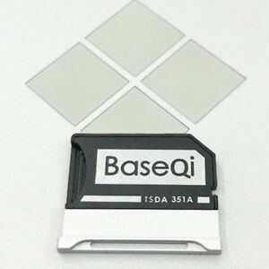 BASEQI Aluminum Minidrive Microsd Adapter For Microsoft Surface Book2/3 15''
