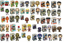 NEW OFFICIAL FUNKO POP VINYL FIGURES - CHOOSE YOUR DESIGN - UK SELLER