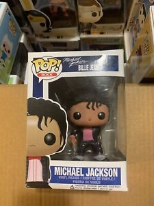 Michael Jackson Billie Jean 22 Funko Pop Vinyl Vaulted Rare Rock