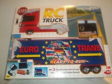 Vintage Rare Dickie Toys 19857 R/C 3 Channel Truck & Semi Trailer 1/25 New