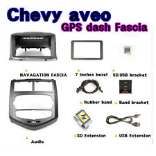 "[KSPEED] (Fits: Chevy 11 12 Aveo) 7"" GPS dash Fascia 1CDP 4d & 5d"