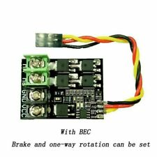 Replace RC Car Drive Board Module w/DC Brushed ESC 8-35V 30A with 5V0.5A BEC