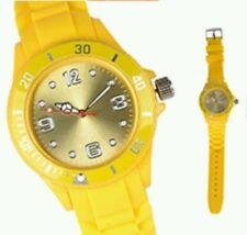 Plastic Case Silicone/Rubber Band Wristwatches