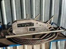 More details for tirfor tu32 wire rope hand winch tractel c/w handle & 12m maniflex wire rope
