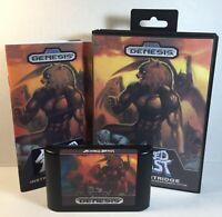 Altered Beast Sega Genesis 1989 Complete Game, Manual & Box