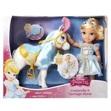 "Disney Princess 16"" Cinderella and Carriage Horse Doll Set 86857 NIB"