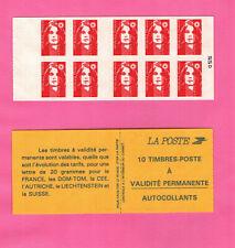FRANCE CARNET BRIAT - YT 2874-C2 - TVP adhésifs (type I) - avec pont - cisaillé