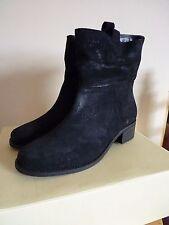 Block Heel Suede Zip Boots NEXT for Women