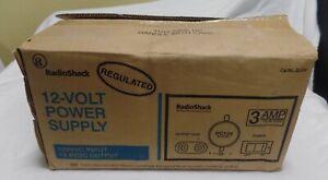 VINTAGE NOS NIB RADIO SHACK REGULATED POWER SUPPLY CAT. NO. 22-504 13.8V 3 AMP