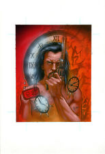 TONY HARRIS DC Villains VANDAL SAVAGE Original PAINTED CARD ART